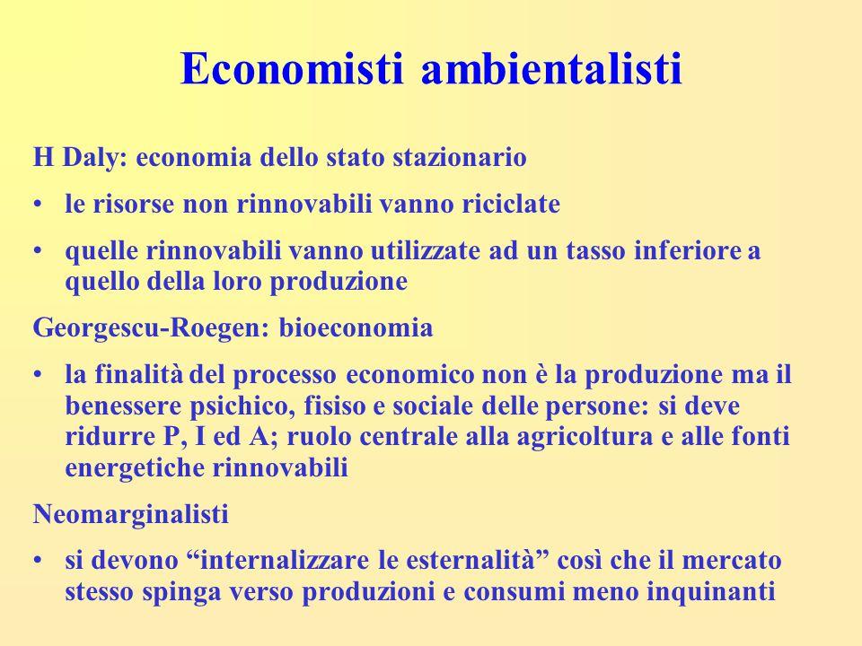 Economisti ambientalisti