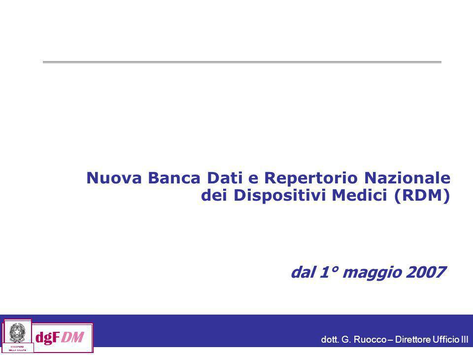 Nuova Banca Dati e Repertorio Nazionale