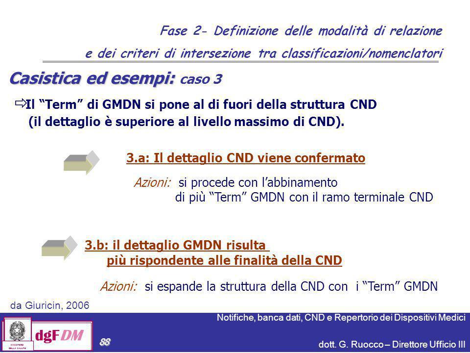 Casistica ed esempi: caso 3