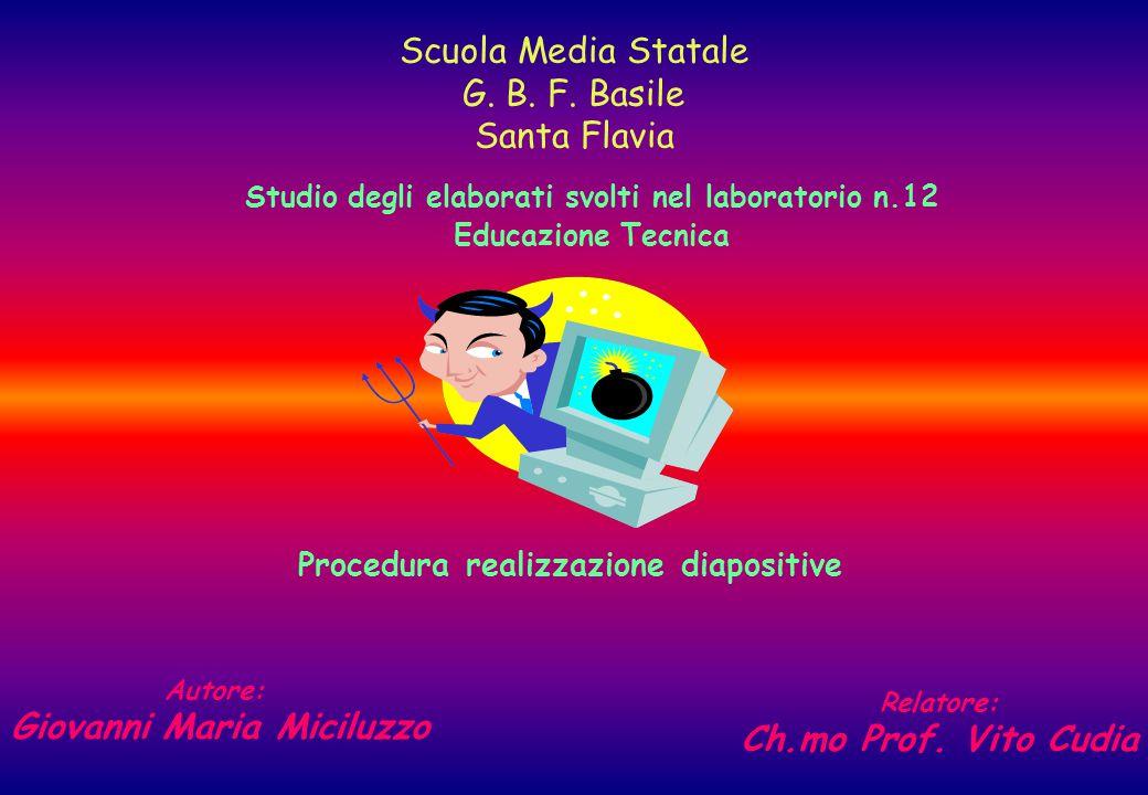Scuola Media Statale G. B. F. Basile Santa Flavia
