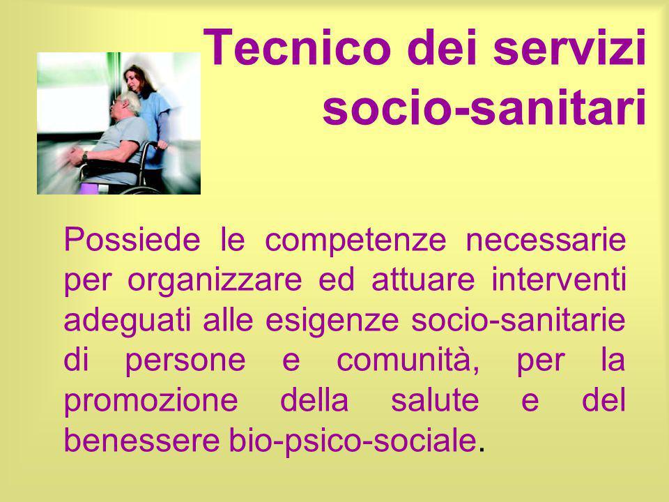 Tecnico dei servizi socio-sanitari