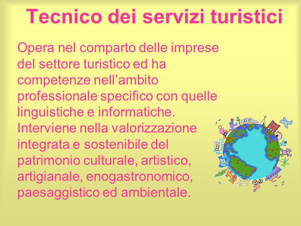 Tecnico dei servizi turistici