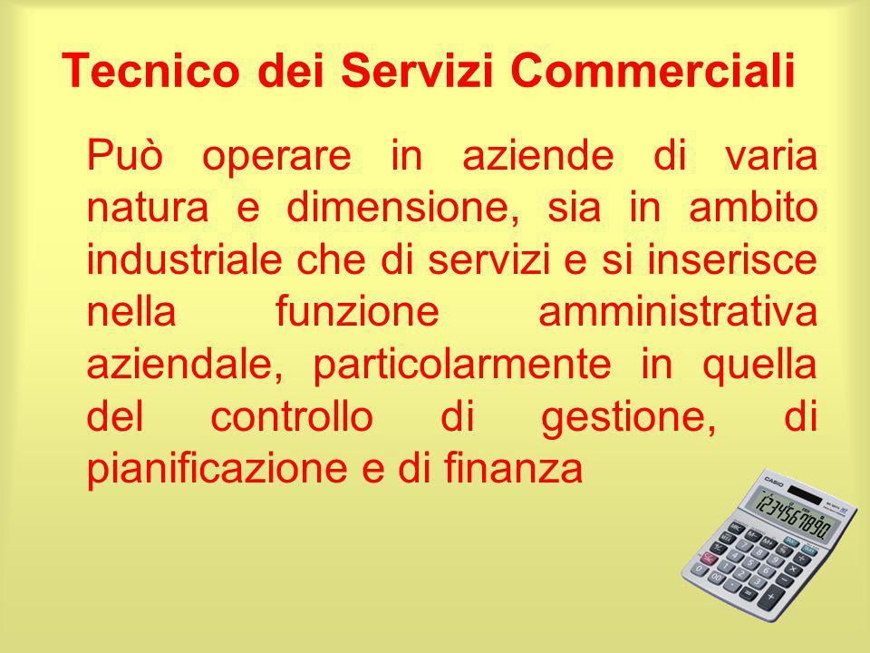 Tecnico dei Servizi Commerciali