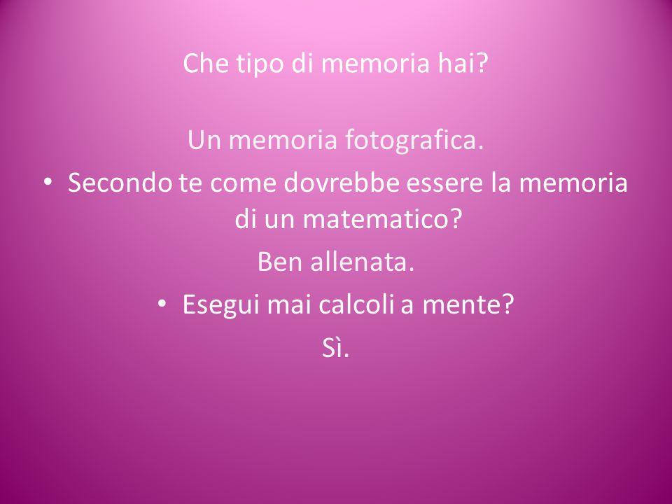 Un memoria fotografica.