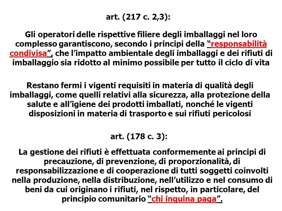 art. (217 c. 2,3):
