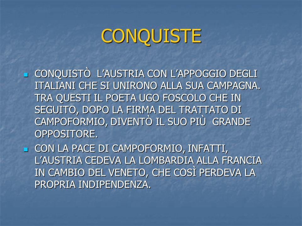 CONQUISTE