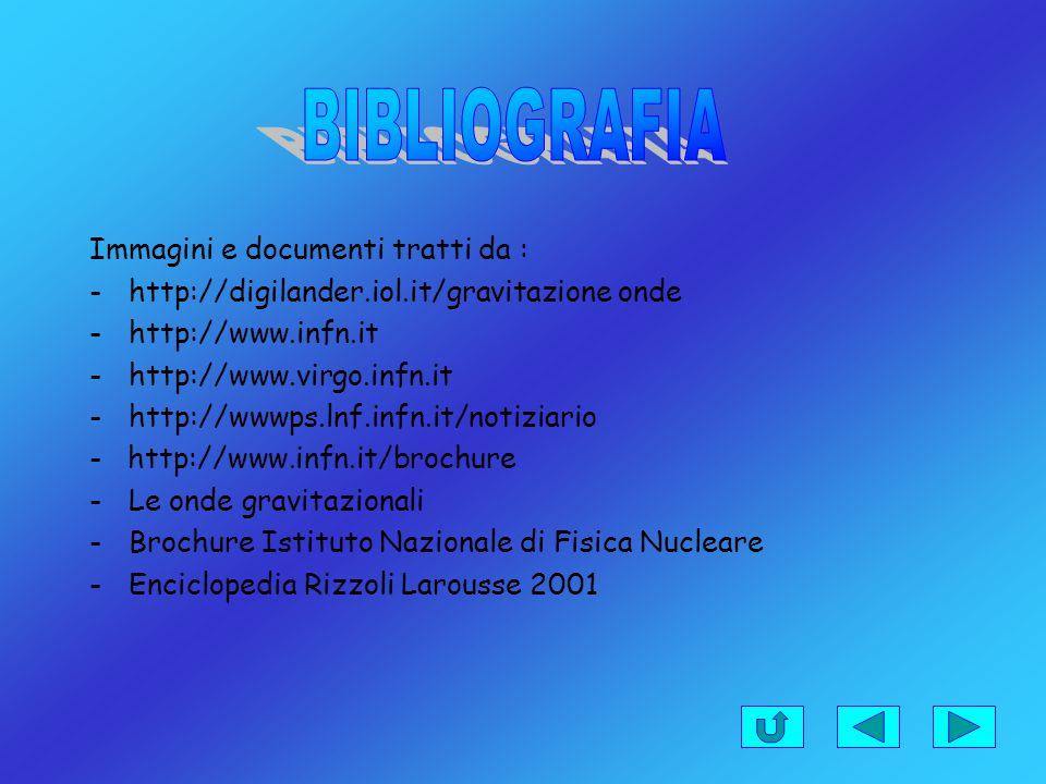 BIBLIOGRAFIA Immagini e documenti tratti da :