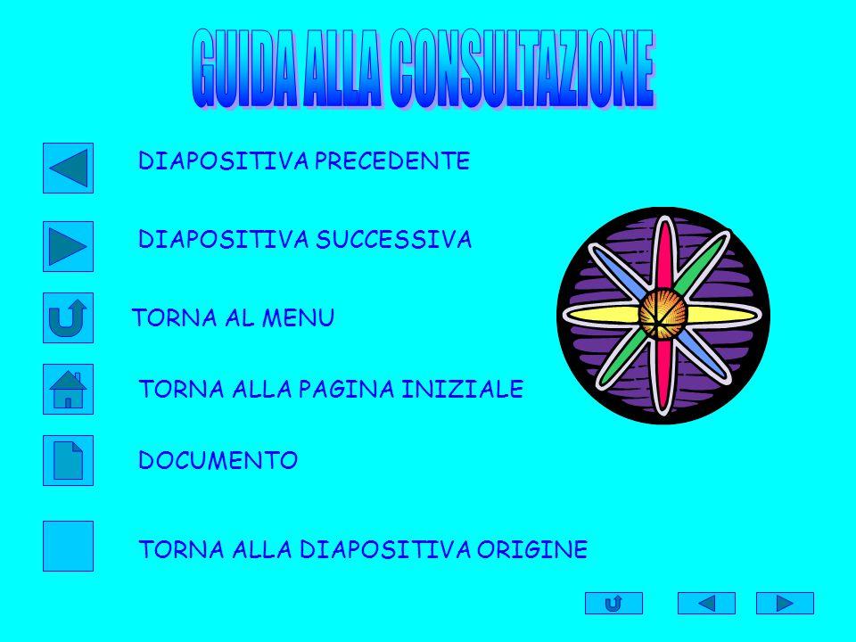 GUIDA ALLA CONSULTAZIONE