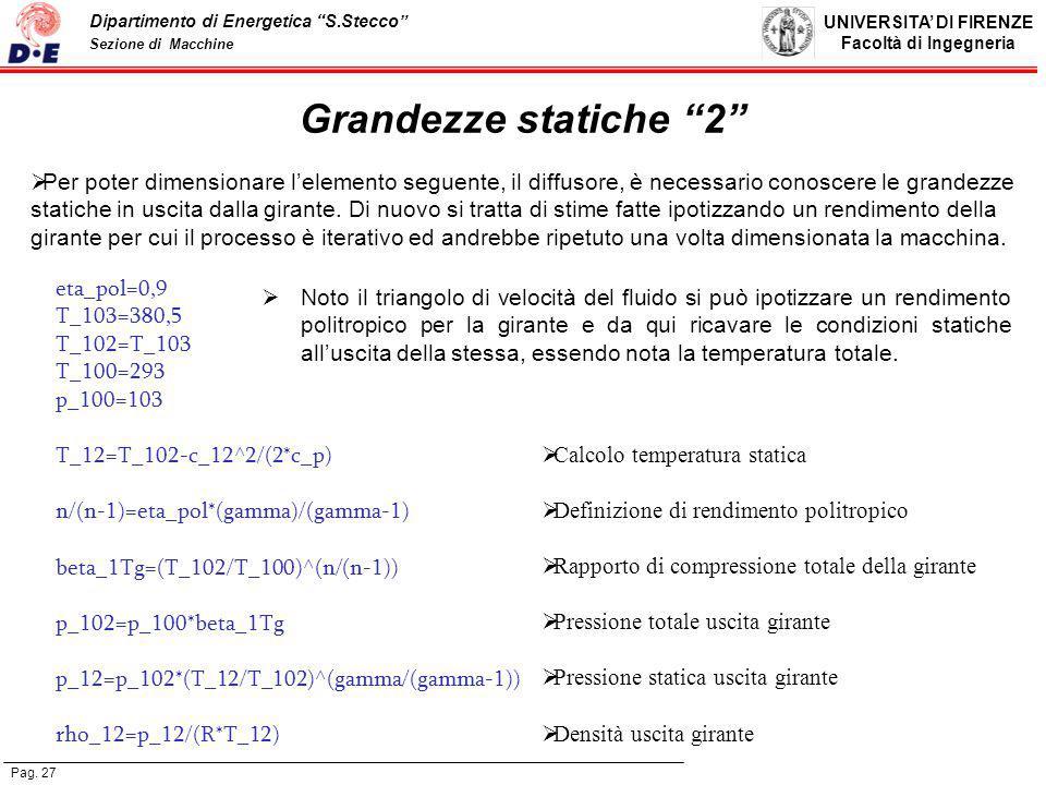 Grandezze statiche 2