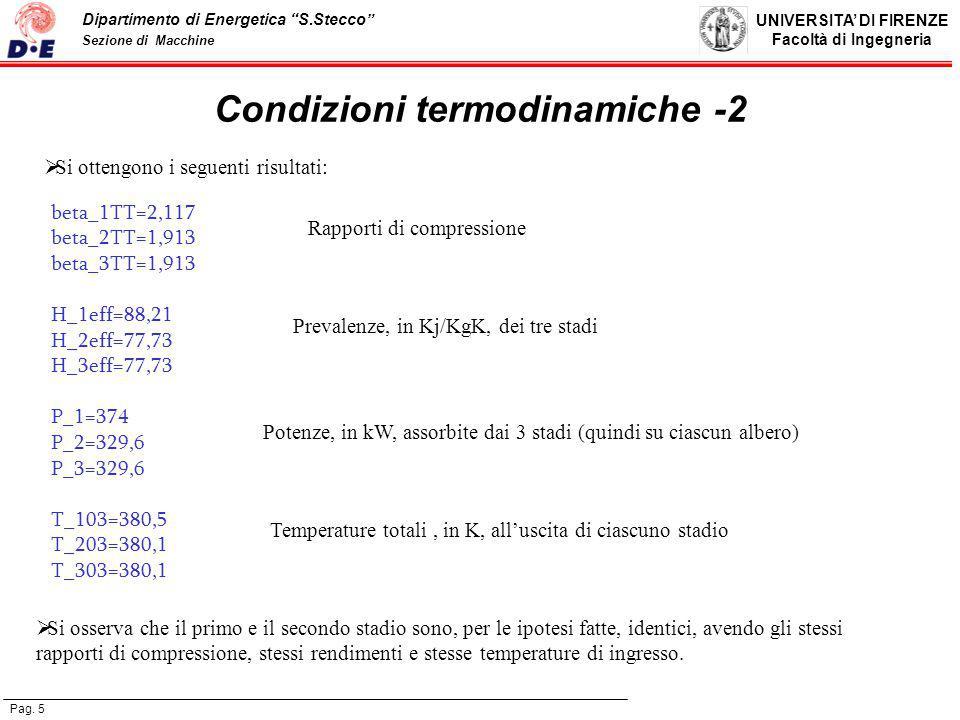 Condizioni termodinamiche -2
