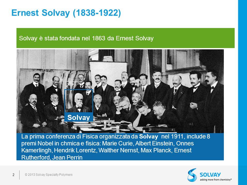Ernest Solvay (1838-1922) Solvay