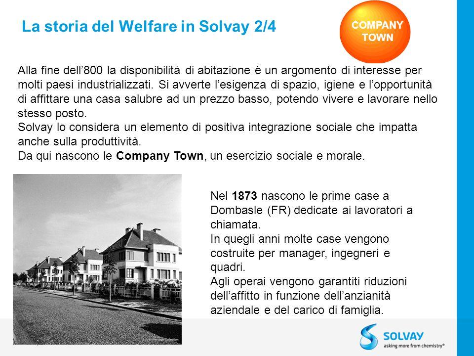 La storia del Welfare in Solvay 2/4