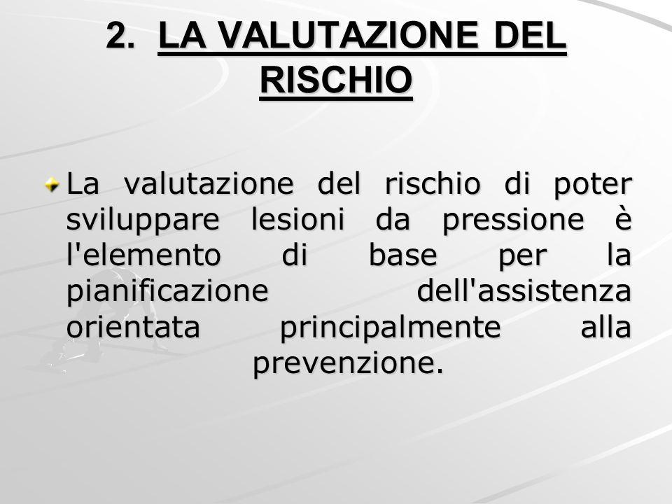 2. LA VALUTAZIONE DEL RISCHIO