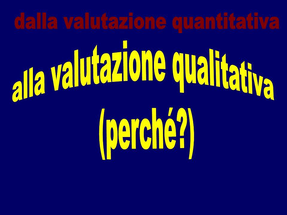 dalla valutazione quantitativa