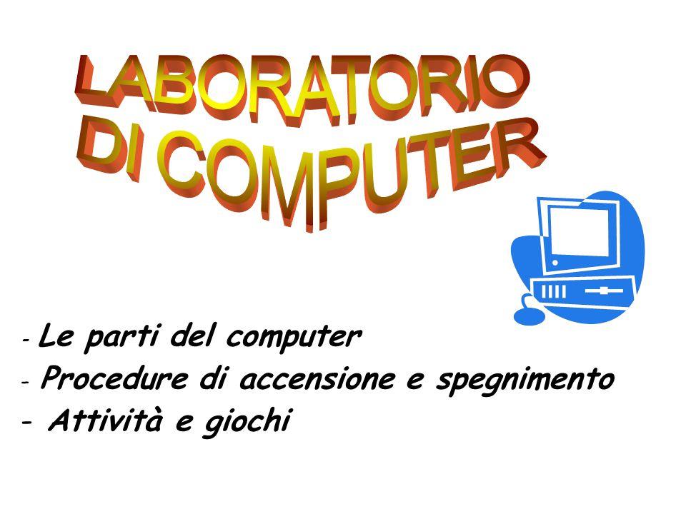 LABORATORIO DI COMPUTER Attività e giochi