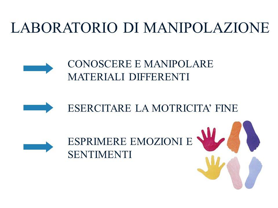 LABORATORIO DI MANIPOLAZIONE