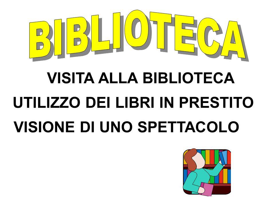 VISITA ALLA BIBLIOTECA