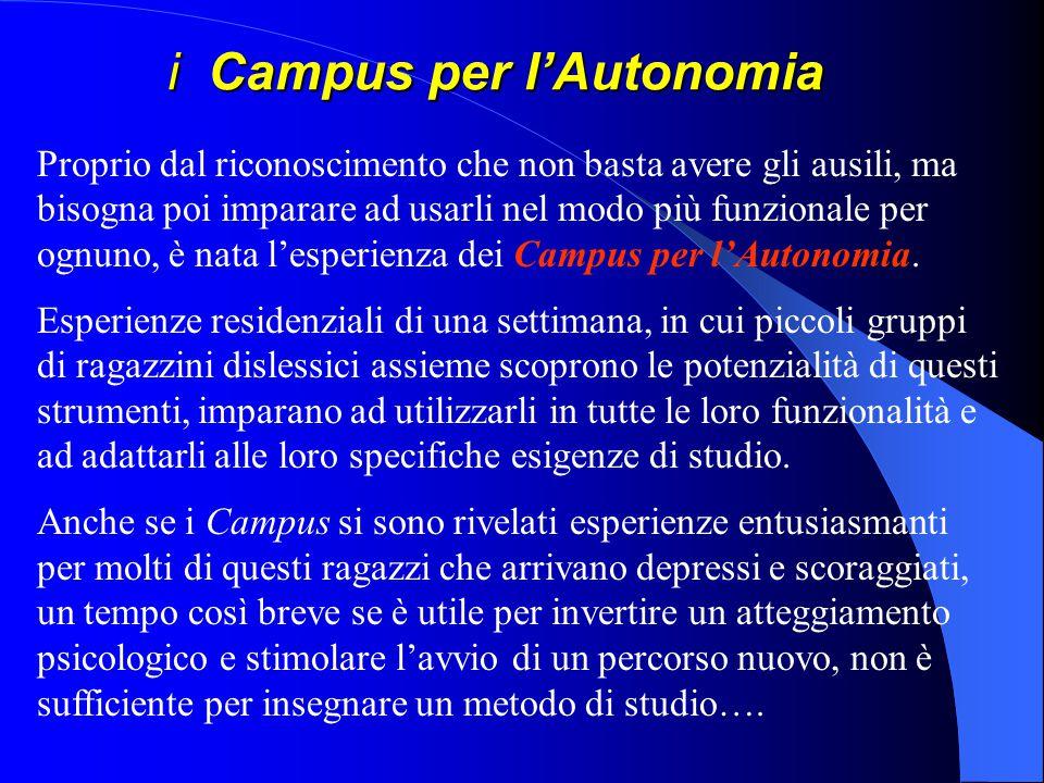 i Campus per l'Autonomia
