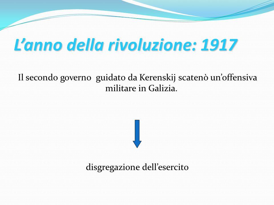 L'anno della rivoluzione: 1917