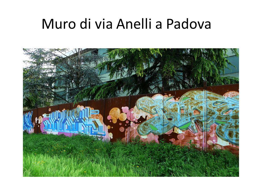Muro di via Anelli a Padova