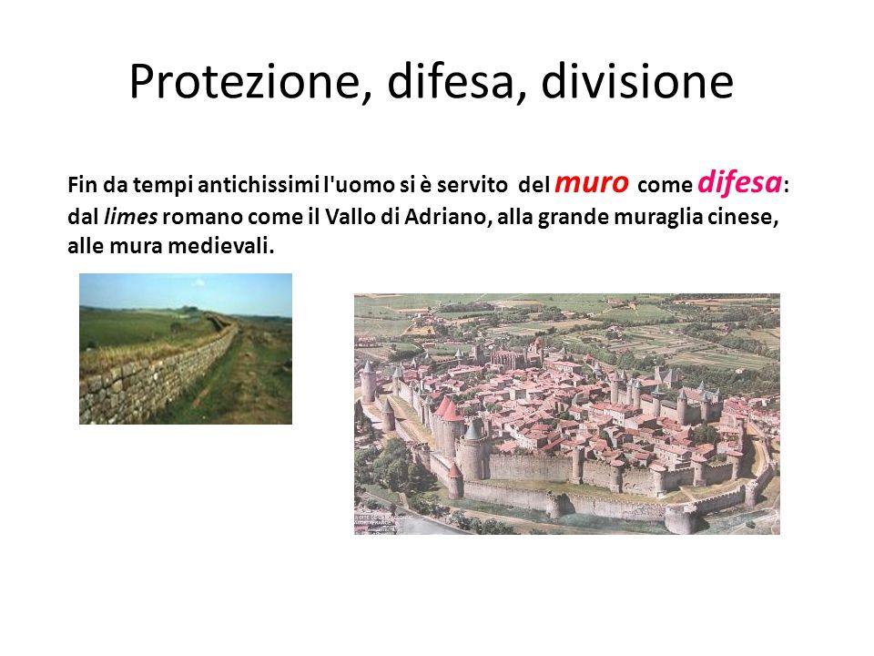 Protezione, difesa, divisione