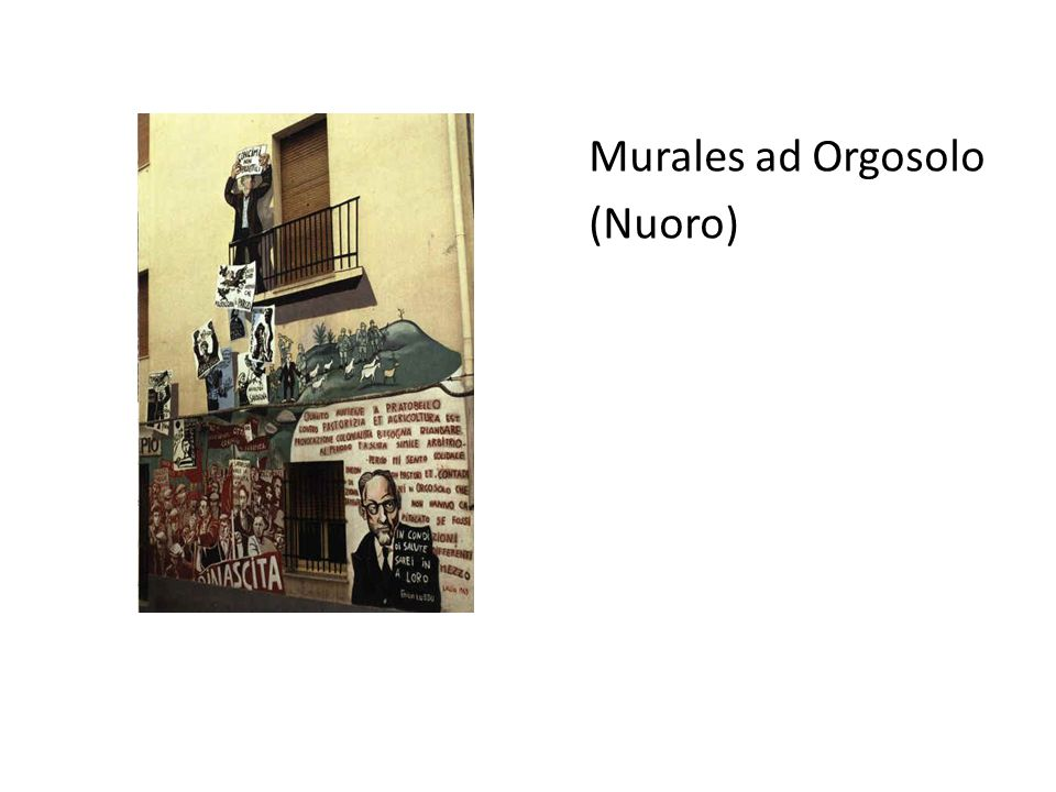 Murales ad Orgosolo (Nuoro)