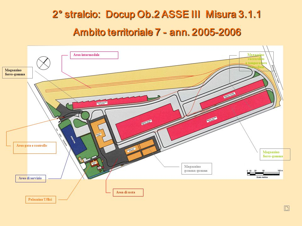 2° stralcio: Docup Ob.2 ASSE III Misura 3.1.1