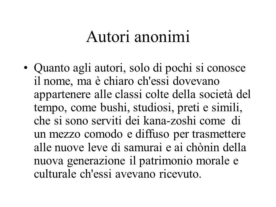 Autori anonimi