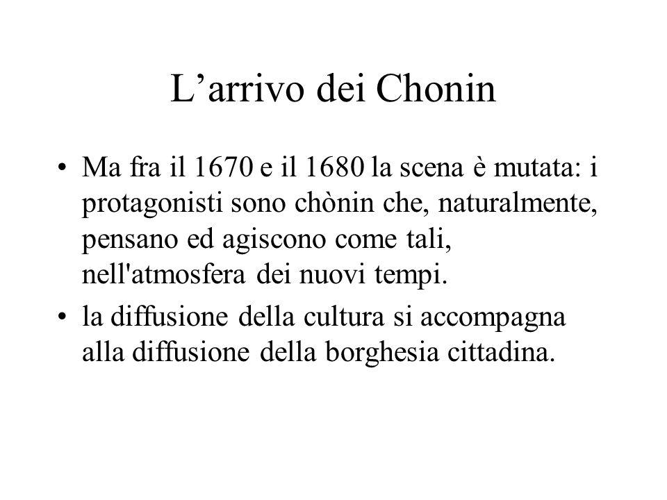 L'arrivo dei Chonin