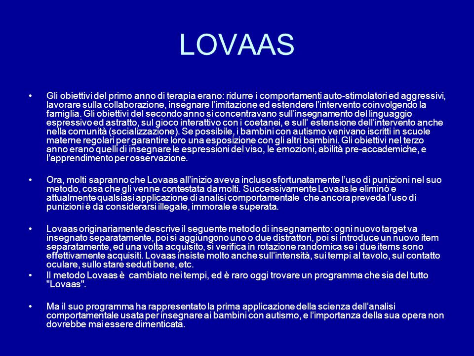 LOVAAS