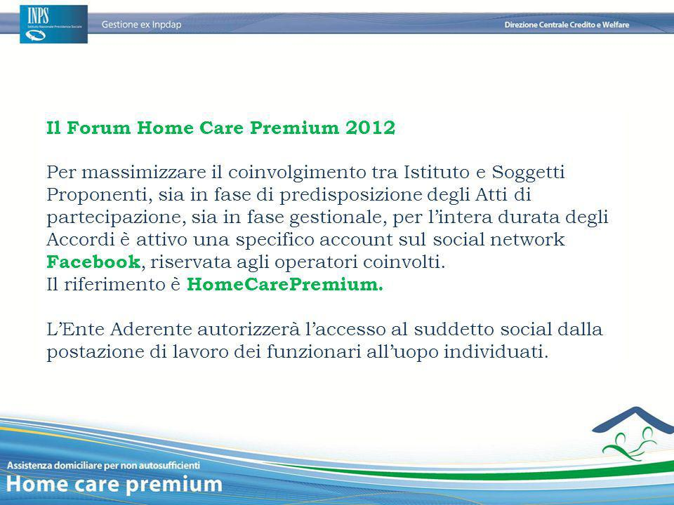 Il Forum Home Care Premium 2012