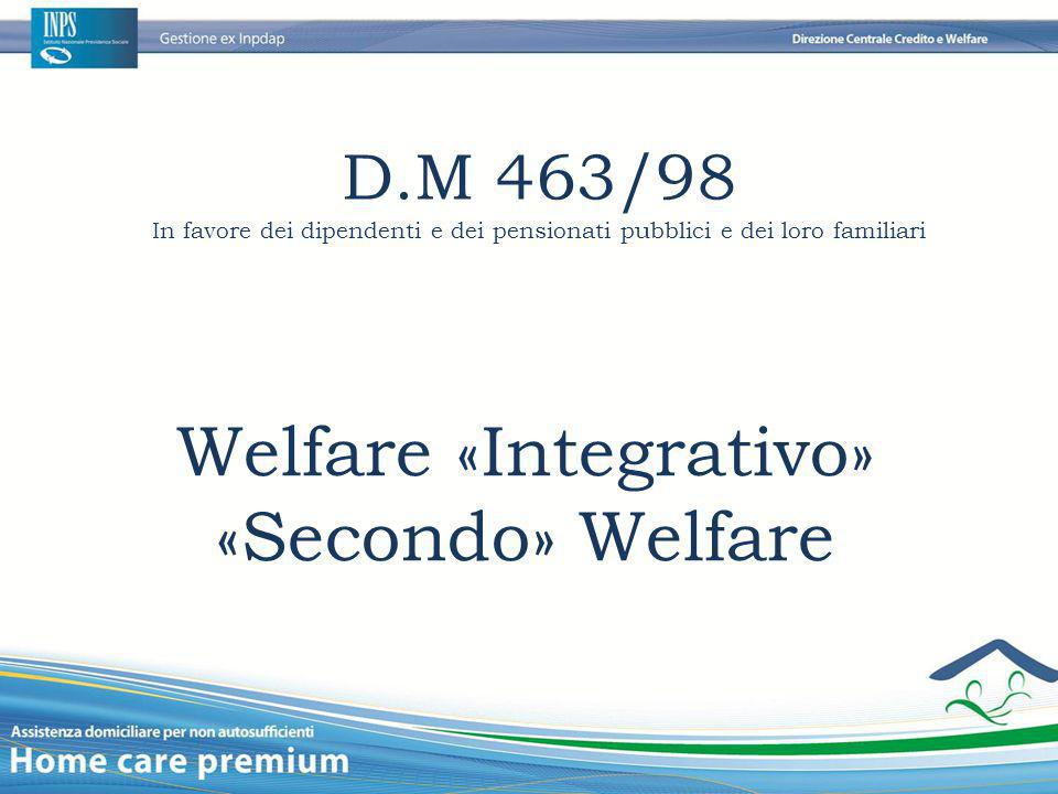 Welfare «Integrativo»