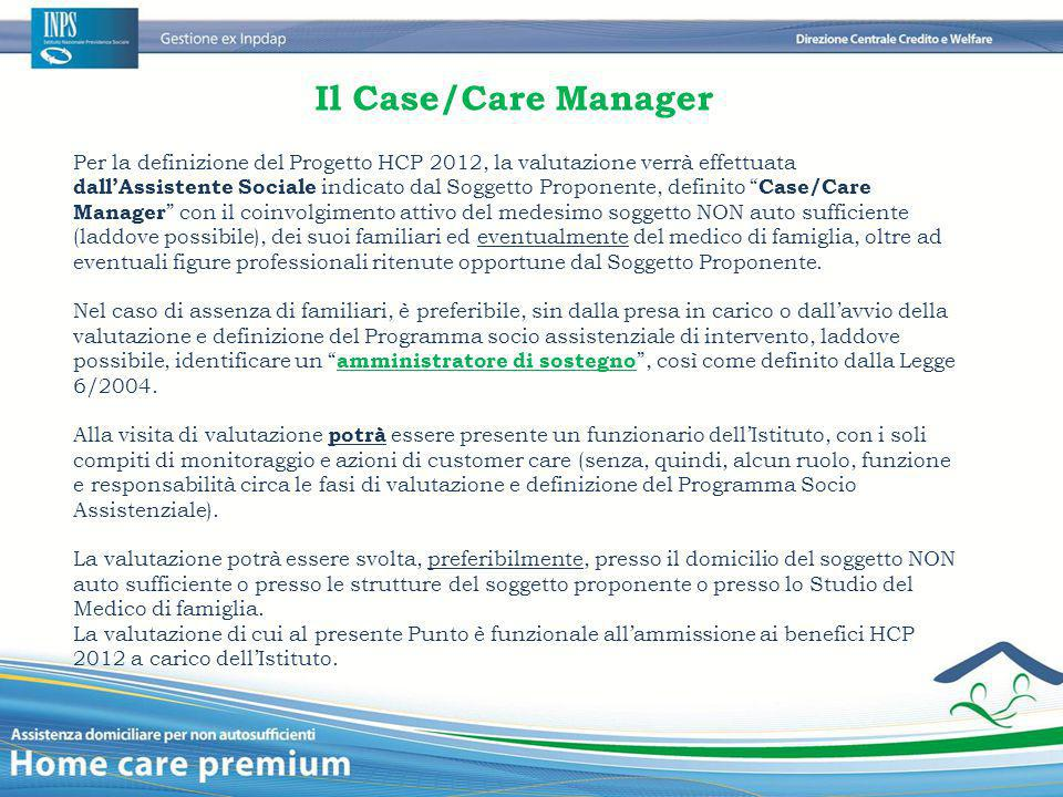 Il Case/Care Manager