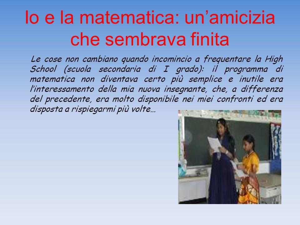 Io e la matematica: un'amicizia che sembrava finita