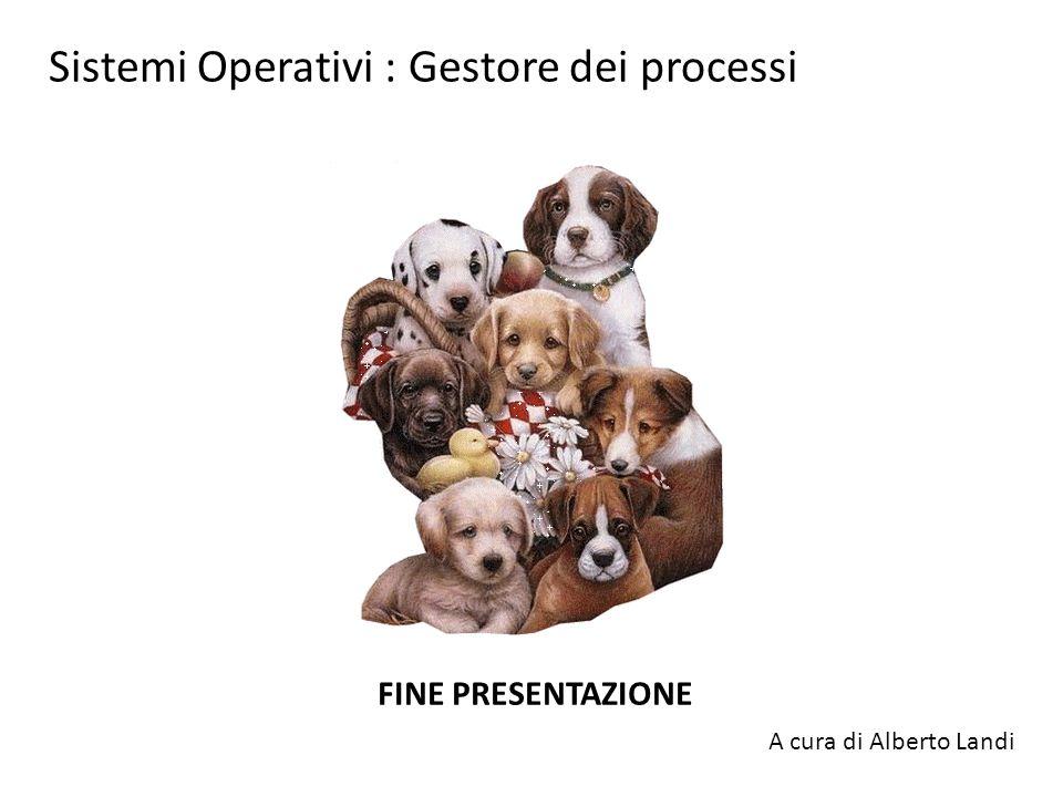 Sistemi Operativi : Gestore dei processi