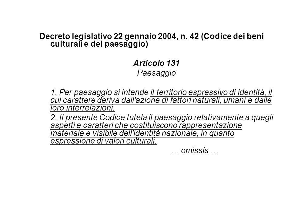 Decreto legislativo 22 gennaio 2004, n