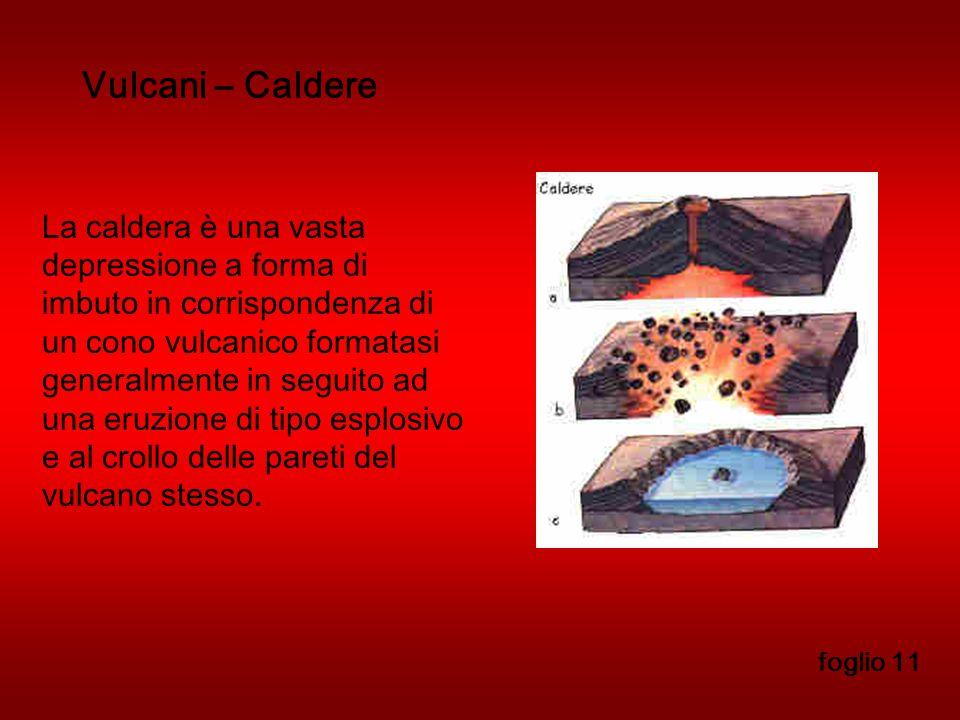 Vulcani – Caldere