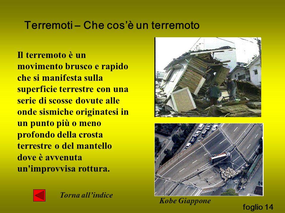 Terremoti – Che cos'è un terremoto