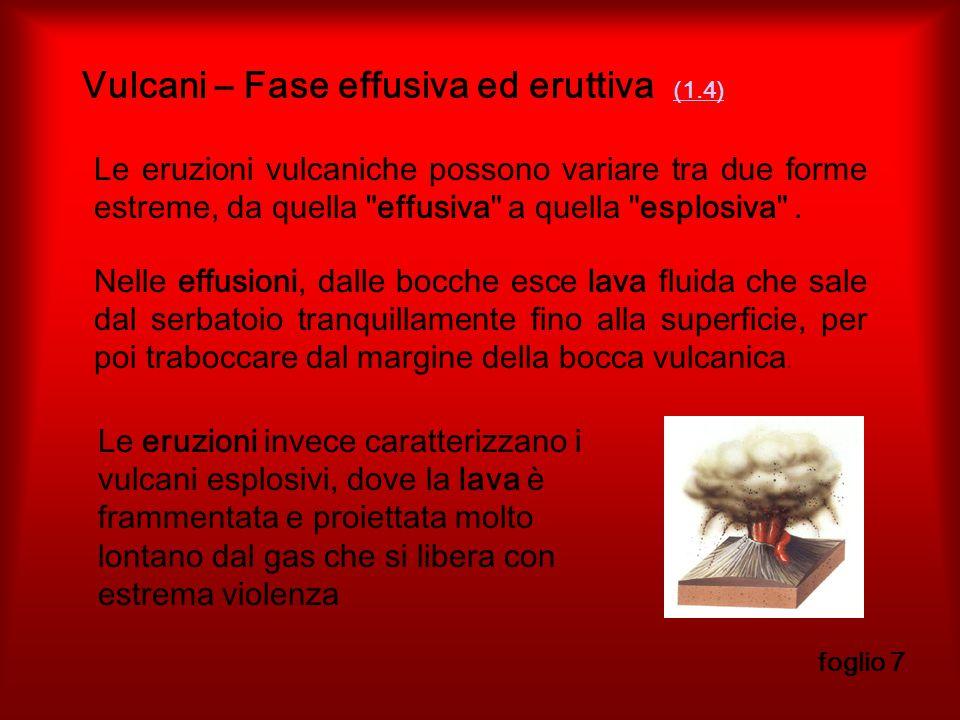 Vulcani – Fase effusiva ed eruttiva (1.4)