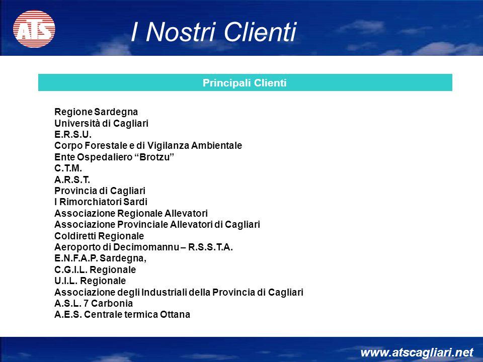 I Nostri Clienti www.atscagliari.net Principali Clienti