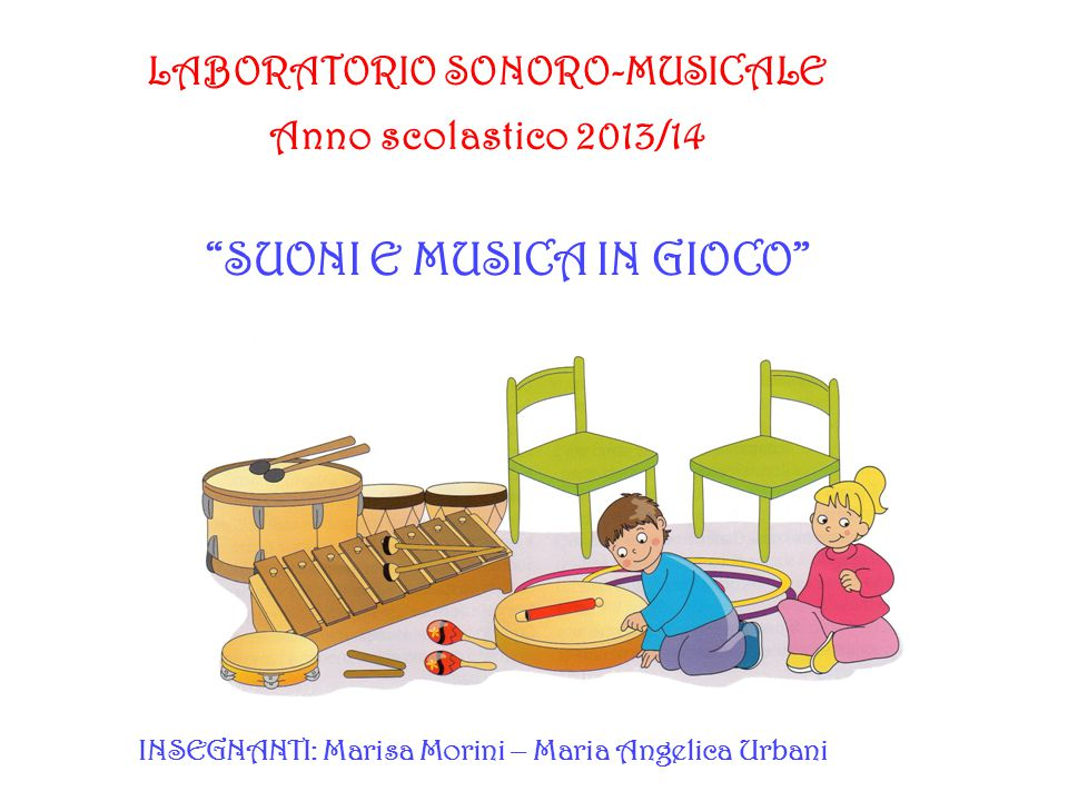 SUONI E MUSICA IN GIOCO