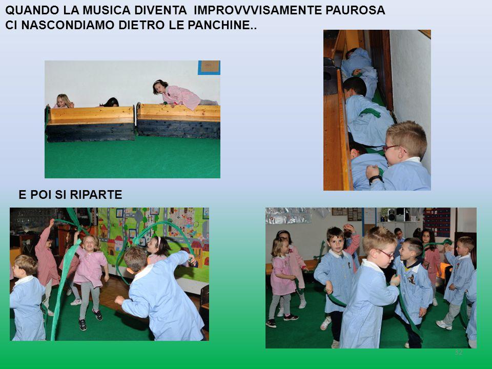 QUANDO LA MUSICA DIVENTA IMPROVVVISAMENTE PAUROSA
