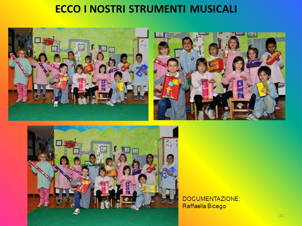 ECCO I NOSTRI STRUMENTI MUSICALI