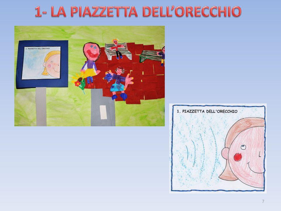 1- LA PIAZZETTA DELL'ORECCHIO