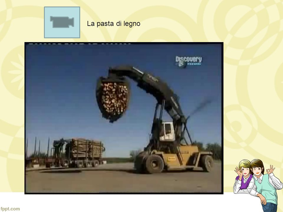 La pasta di legno video