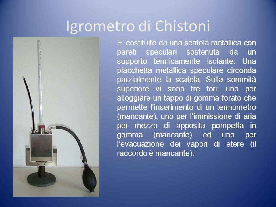 Igrometro di Chistoni
