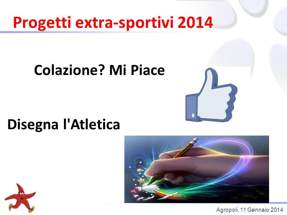 Progetti extra-sportivi 2014