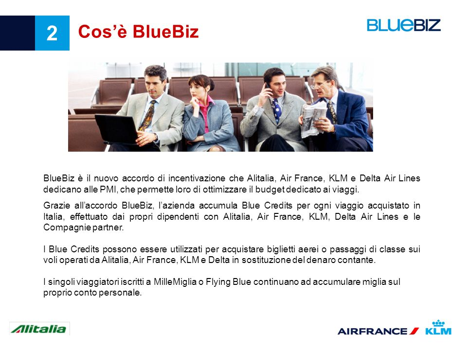 Cos'è BlueBiz