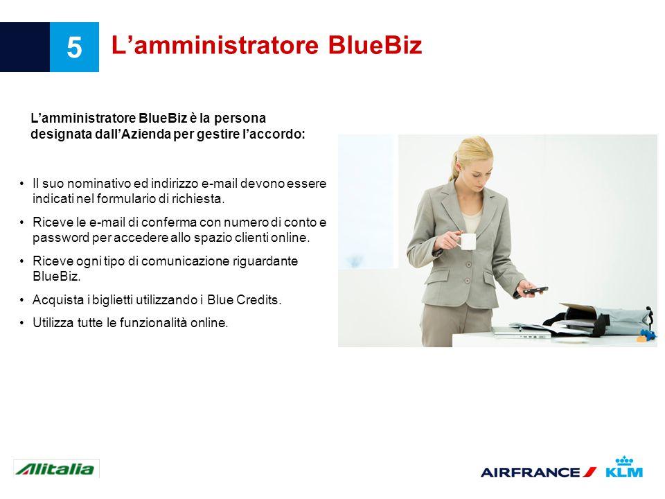 L'amministratore BlueBiz