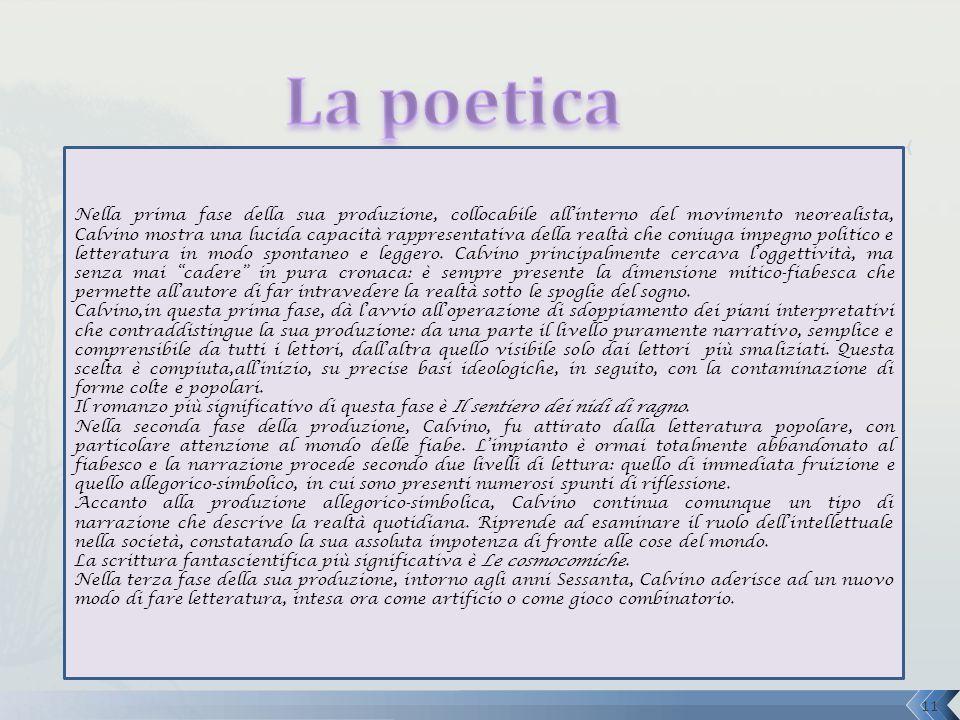 La poetica
